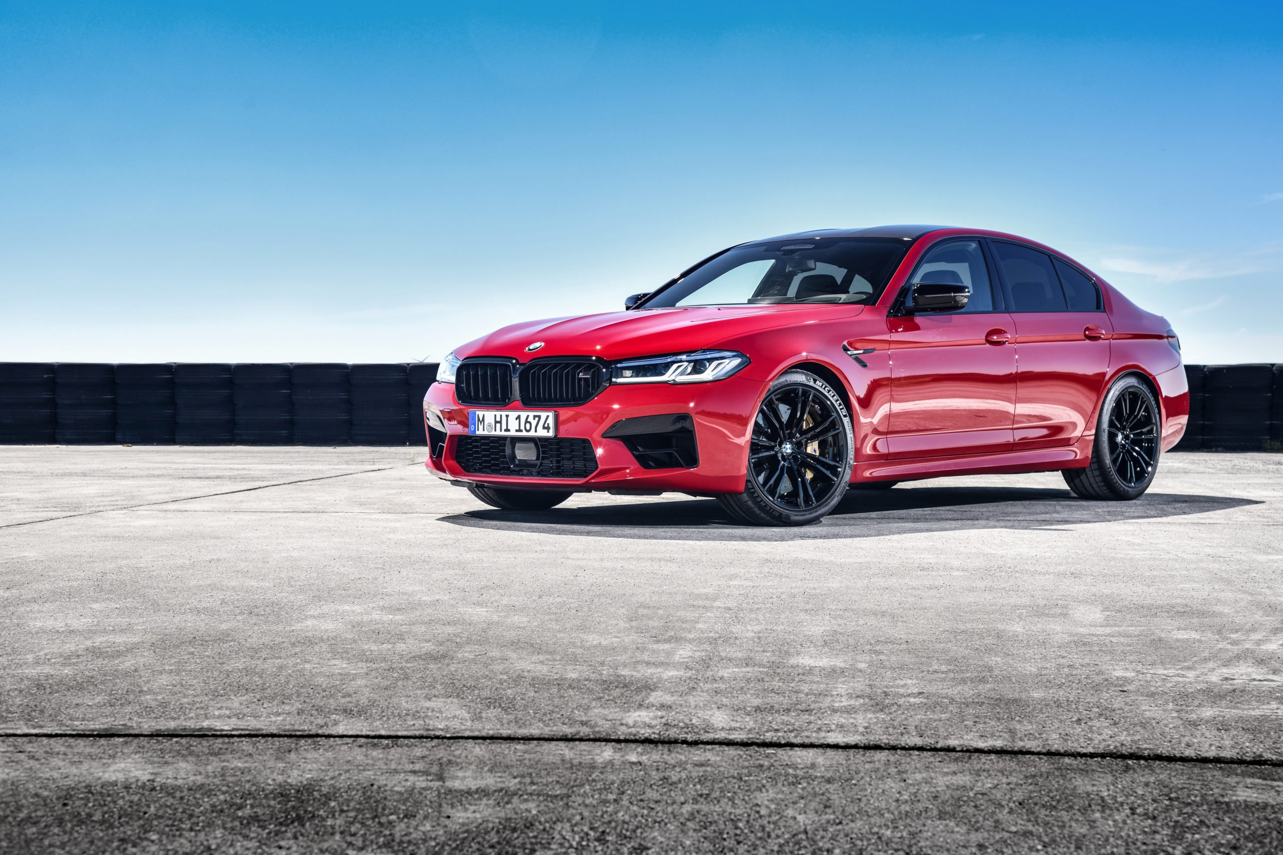 Fastest Four-Door Cars - 2021 BMW M5 Competition