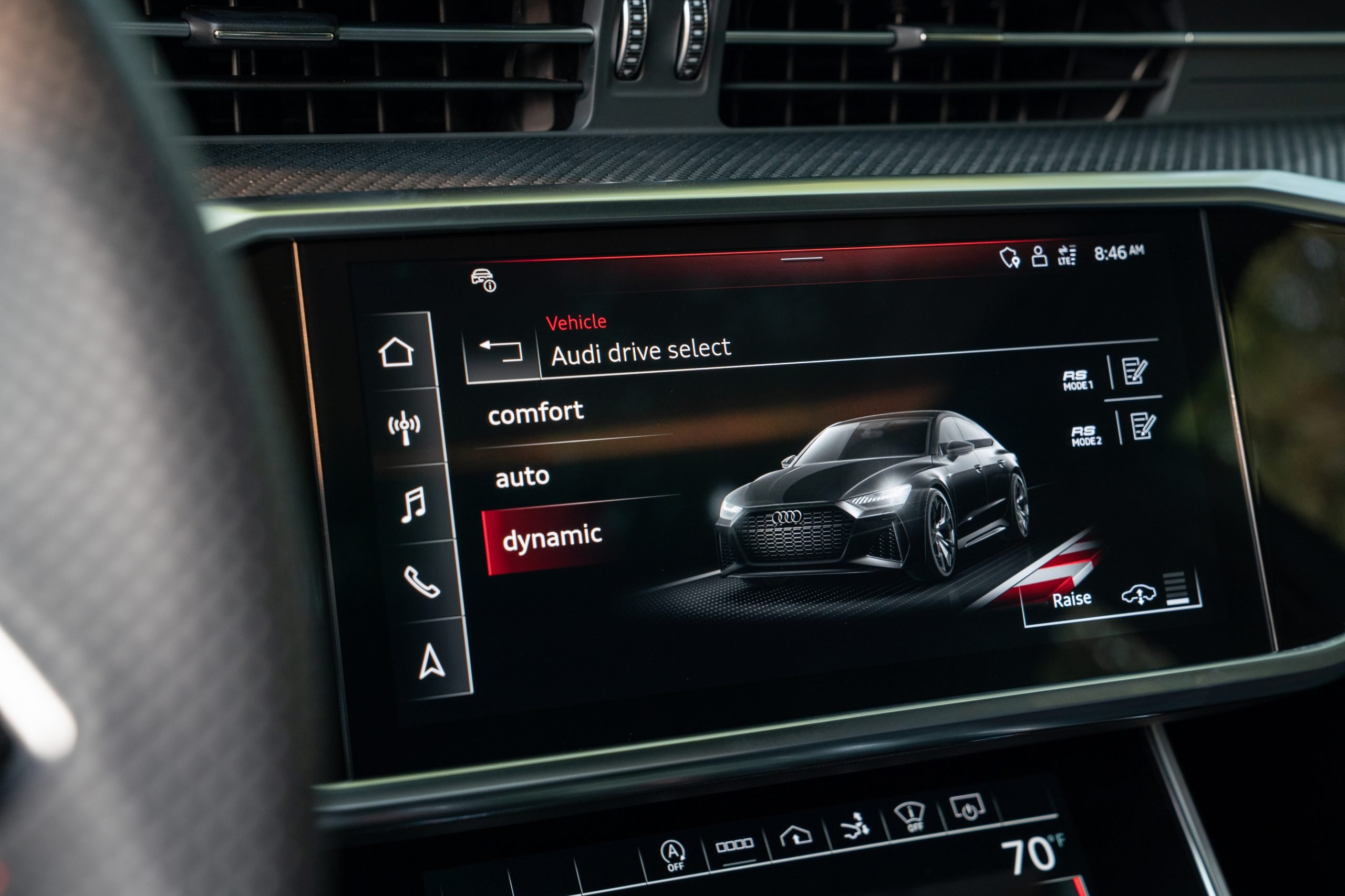 2021 Audi RS7 Center Console Display