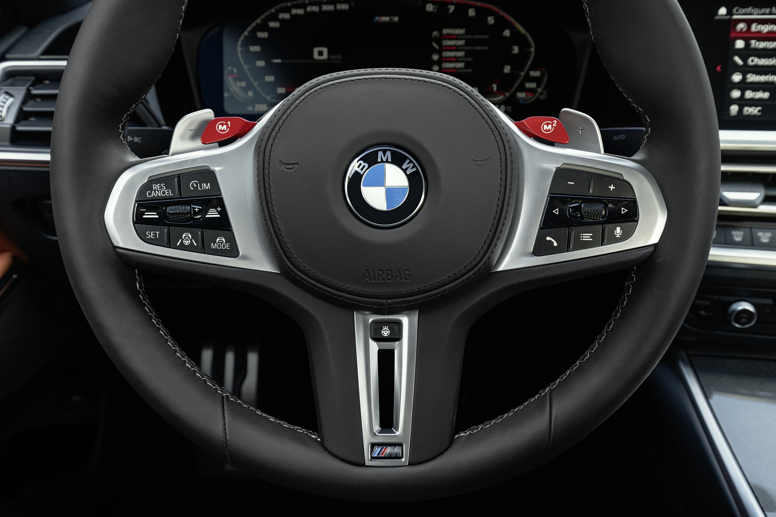 2021 BMW M3 Competition Steering Wheel