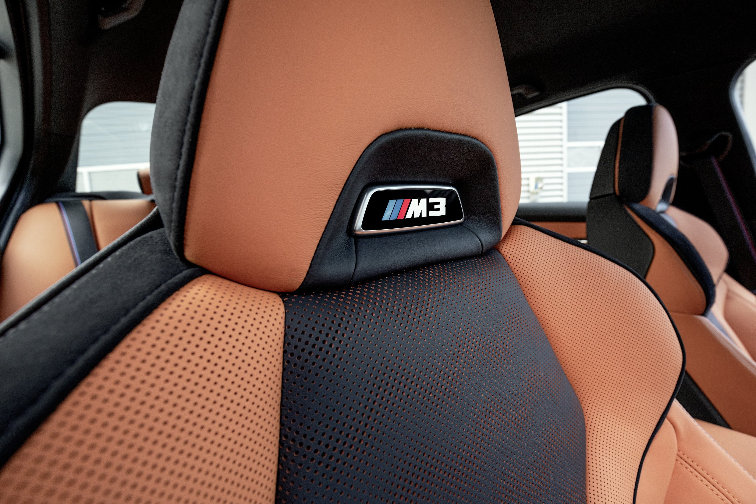 2021 BMW M3 Competition Seat