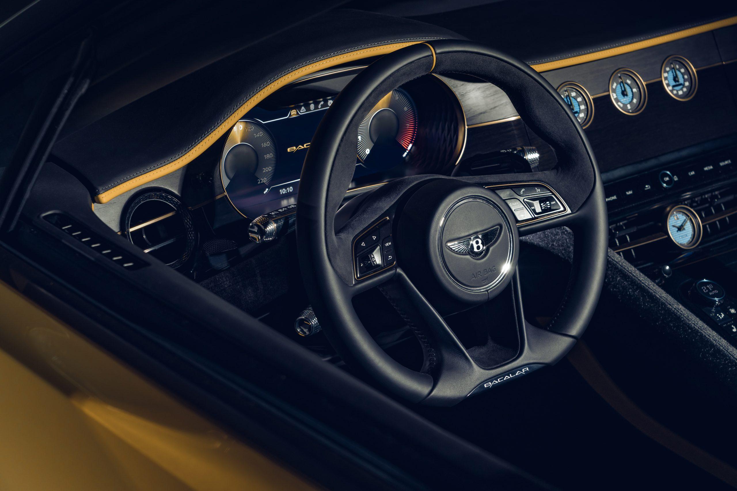 2021 Bentley Bacalar Interior