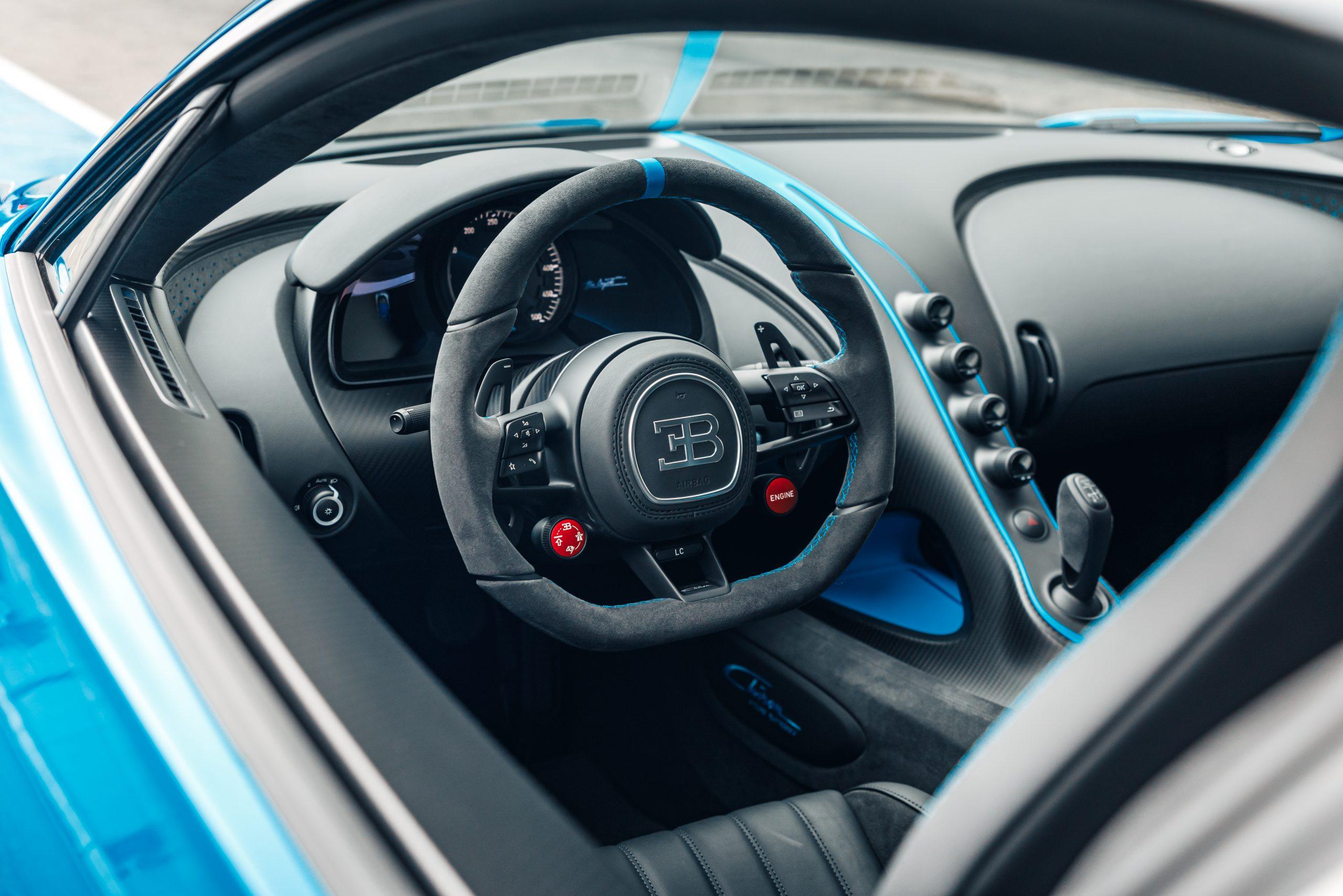 2021 Bugatti Chiron Pur Sport Interior