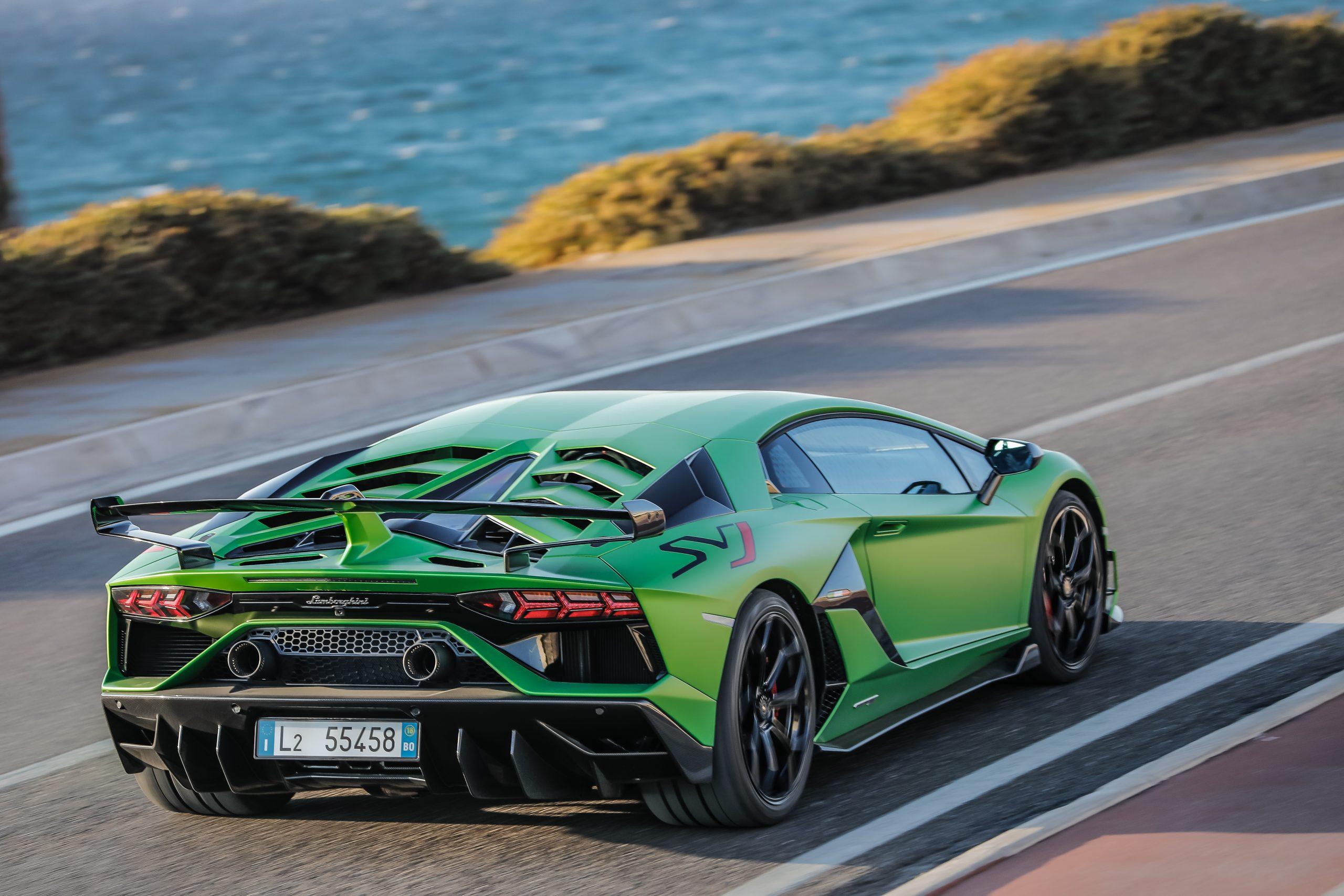 2021 Lamborghini Aventador SVJ