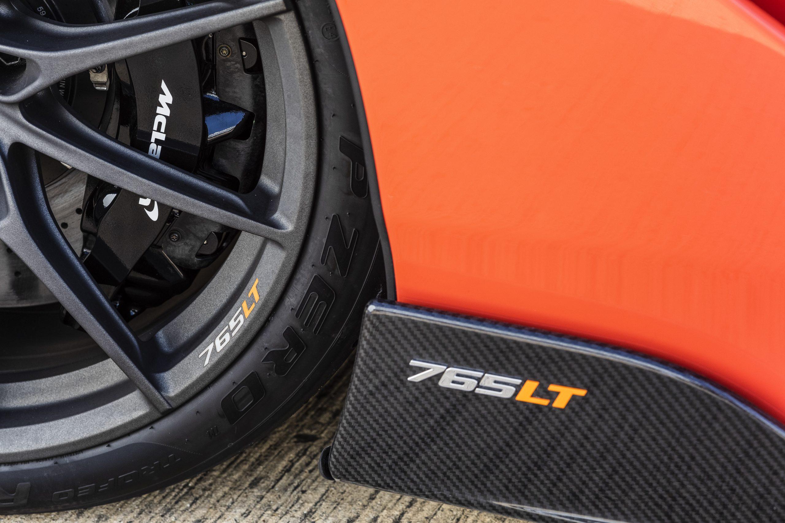 2021 McLaren 765LT Side Skirt