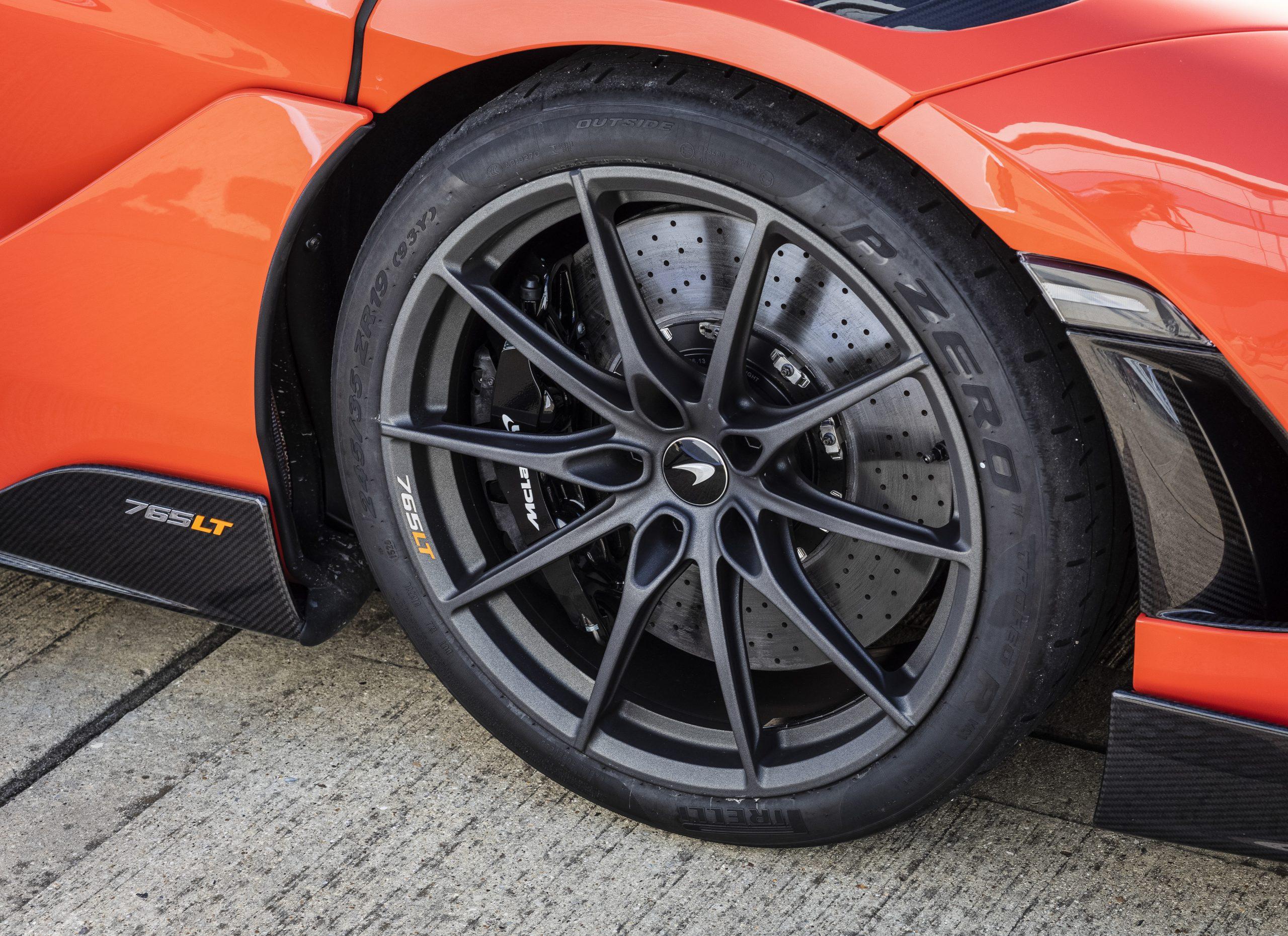 2021 McLaren 765LT Wheel