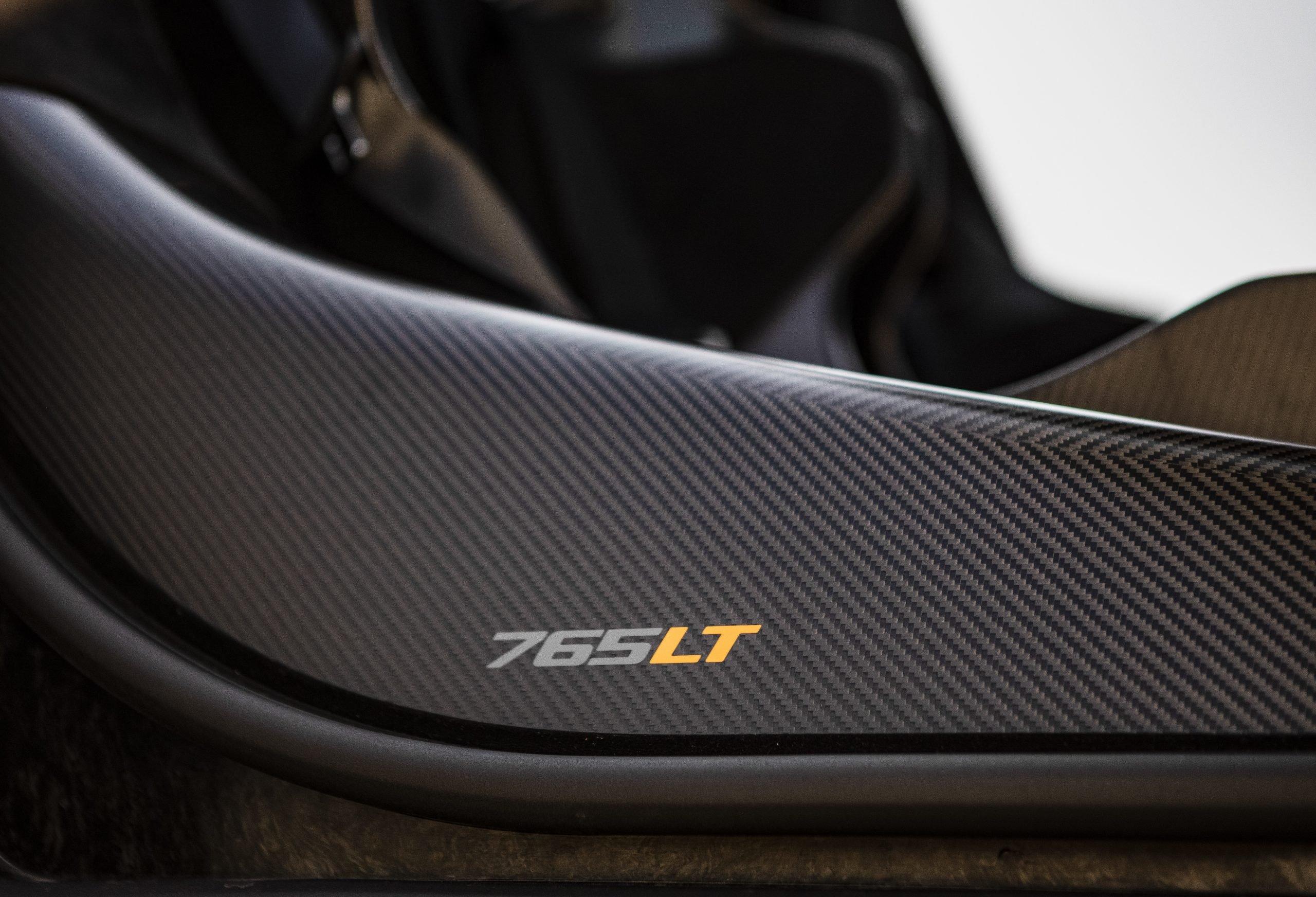 2021 McLaren 765LT Interior
