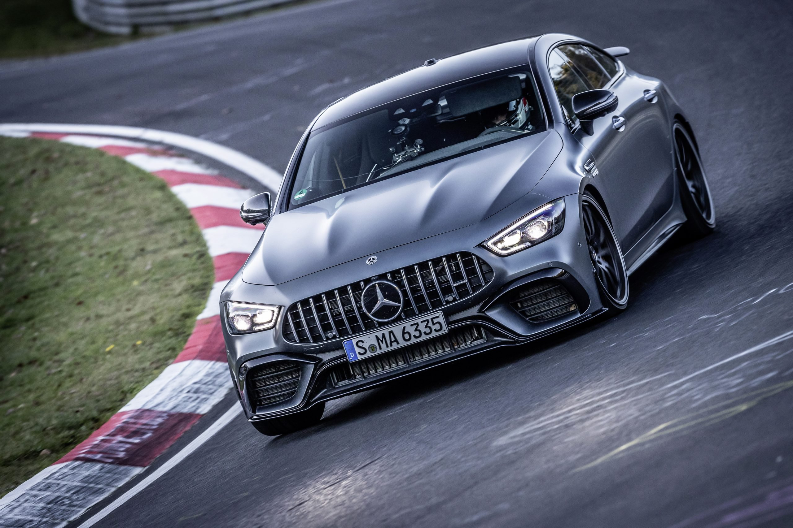 Fastest Four-Door Cars - 2021 Mercedes-AMG GT 63 S
