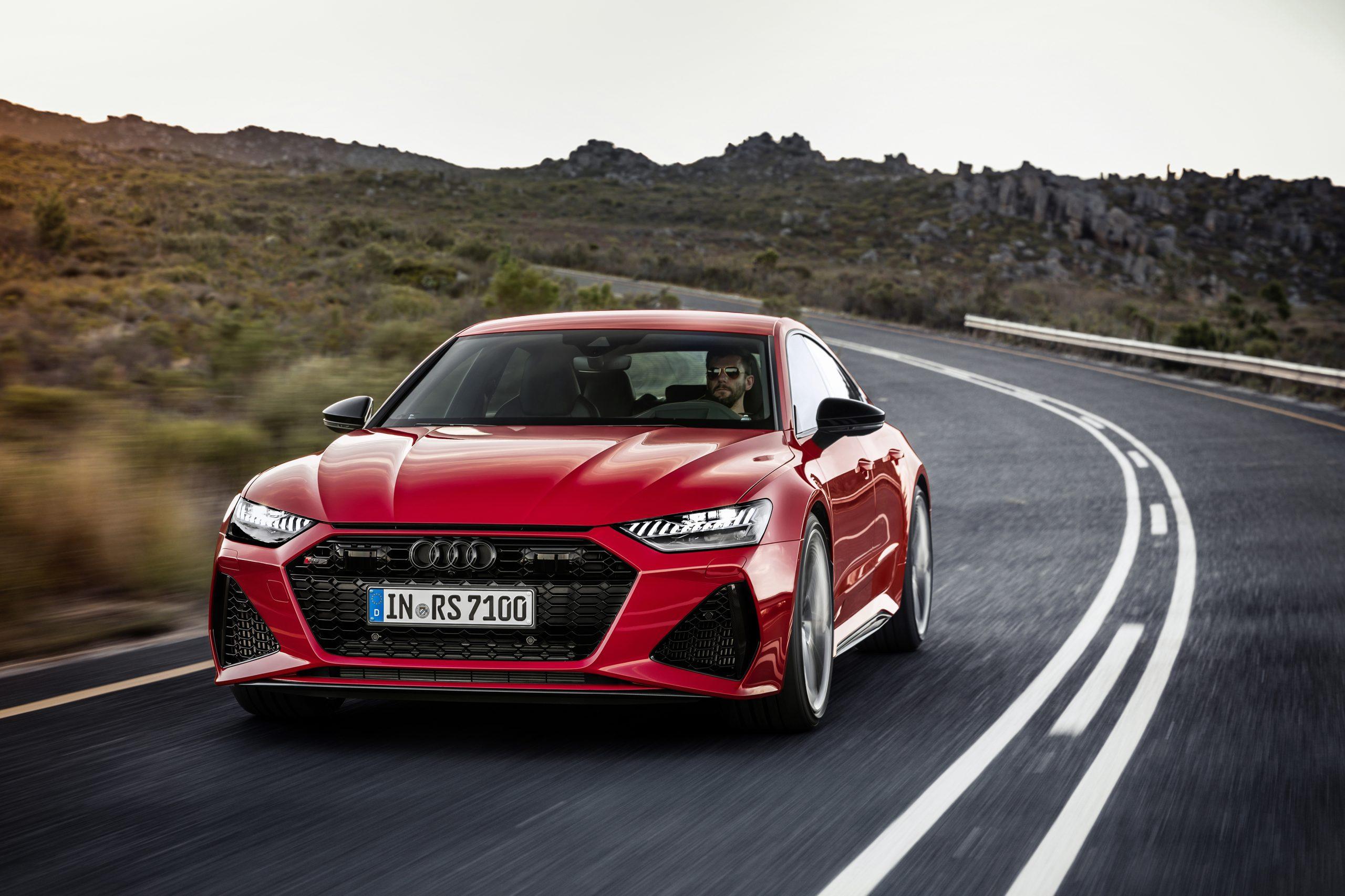 Fastest Four-Door Cars - 2021 Audi RS7 Sportback