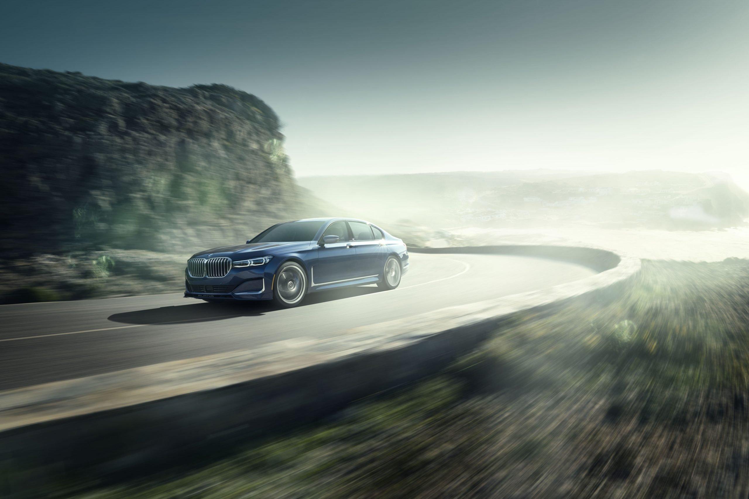 Fastest Four-Door Cars - 2021 BMW Alpina B7