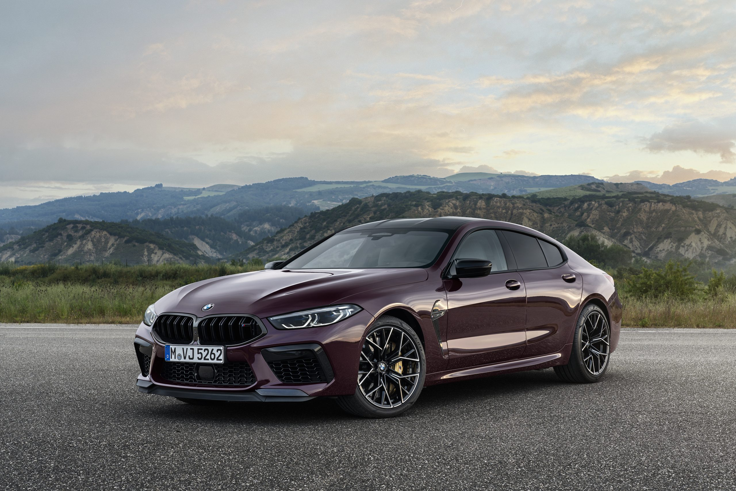 Fastest Four-Door Cars - 2021 BMW M8 Competition