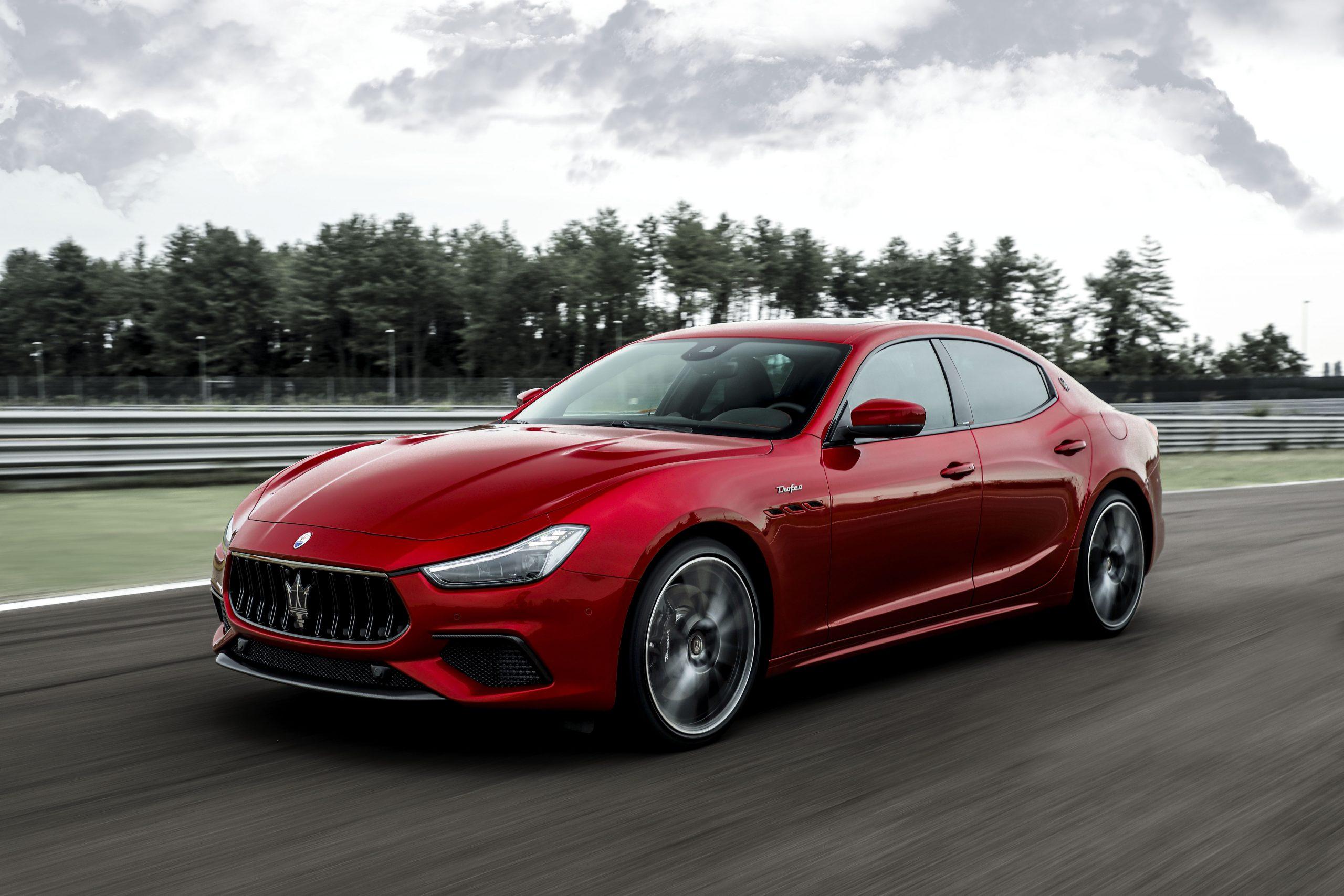Fastest Four-Door Cars - 2021 Maserati Ghibli Trofeo