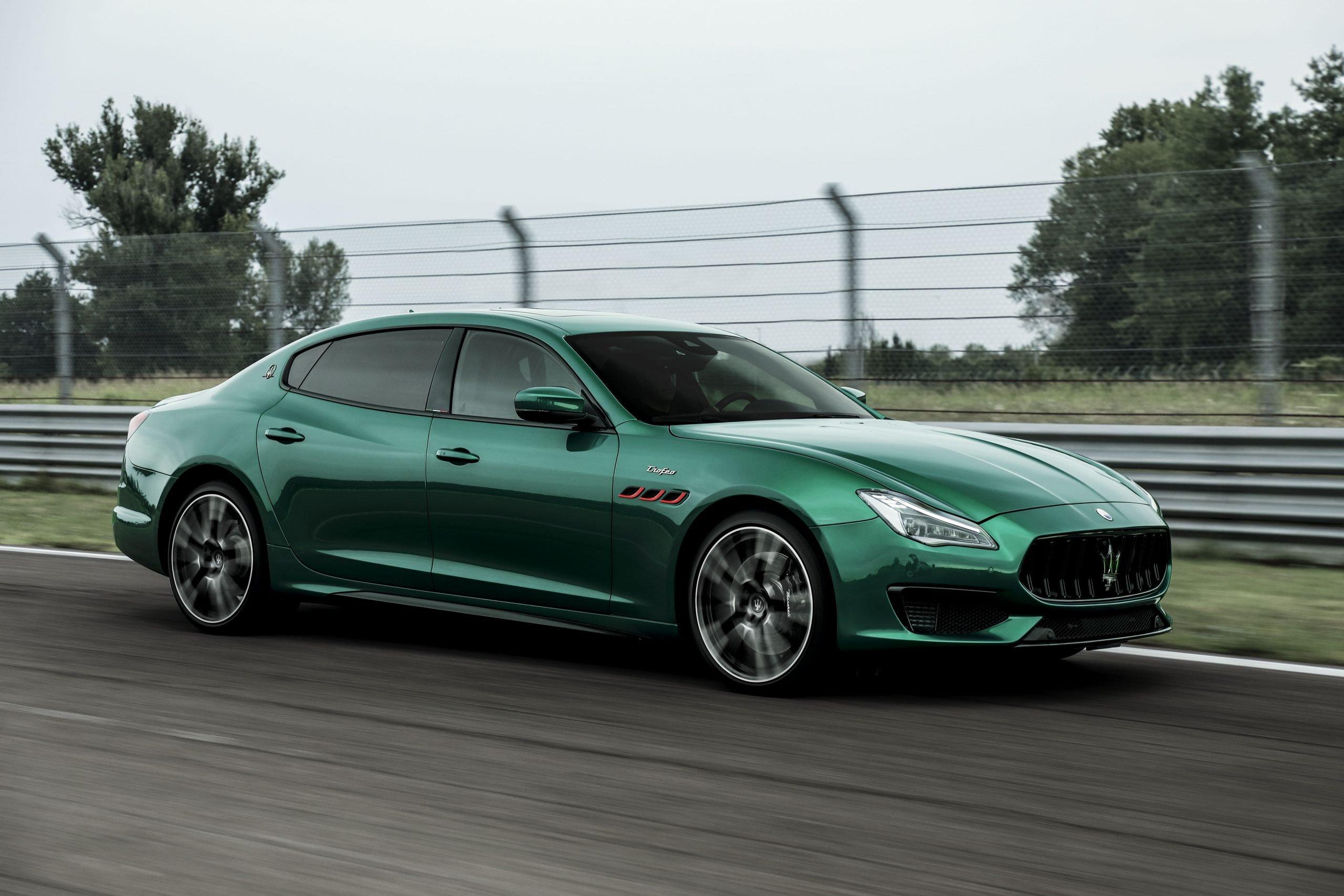 Fastest Four-Door Cars - 2021 Maserati Quattroporte Trofeo