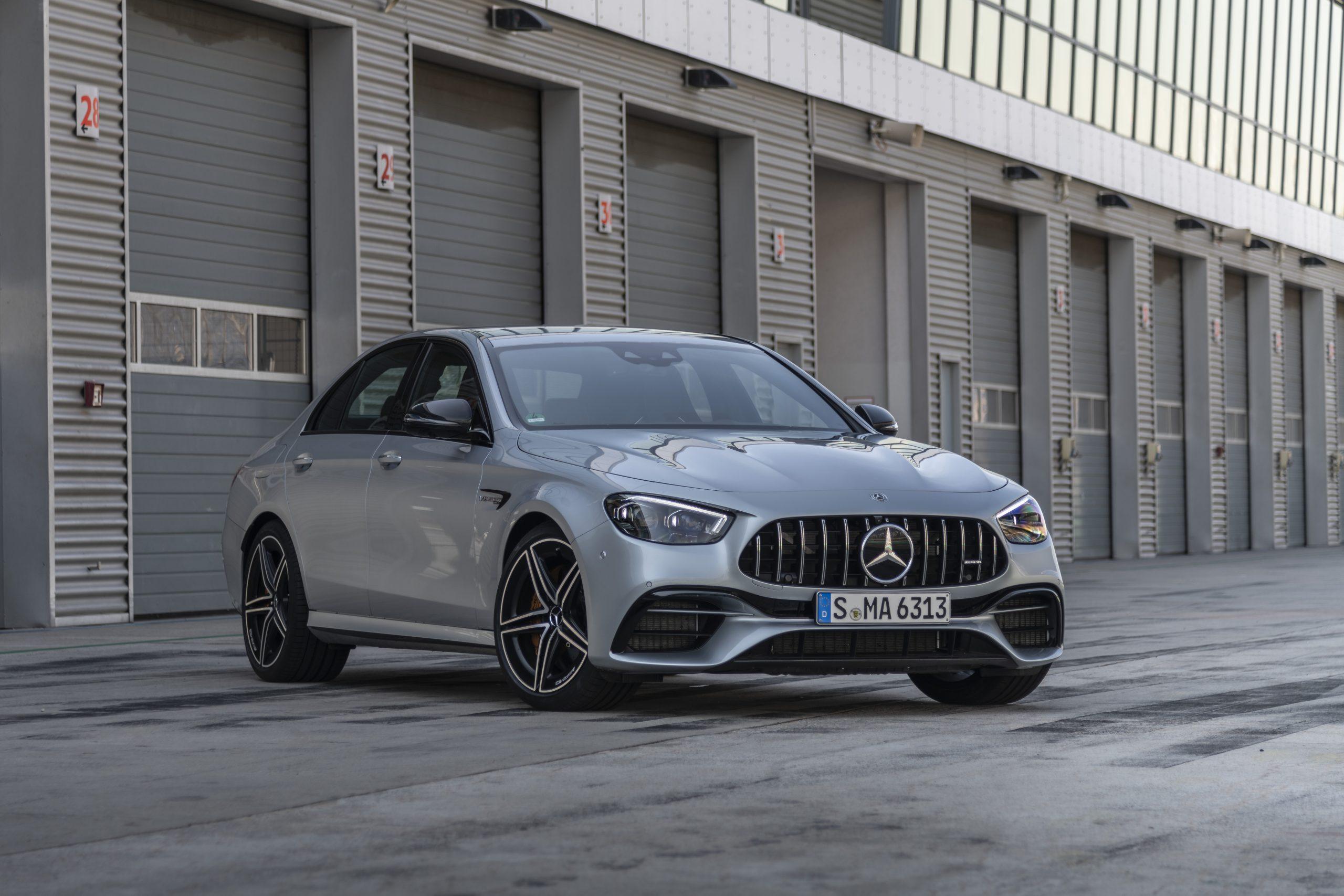 Fastest Four-Door Cars - 2021 Mercedes-AMG E 63 S