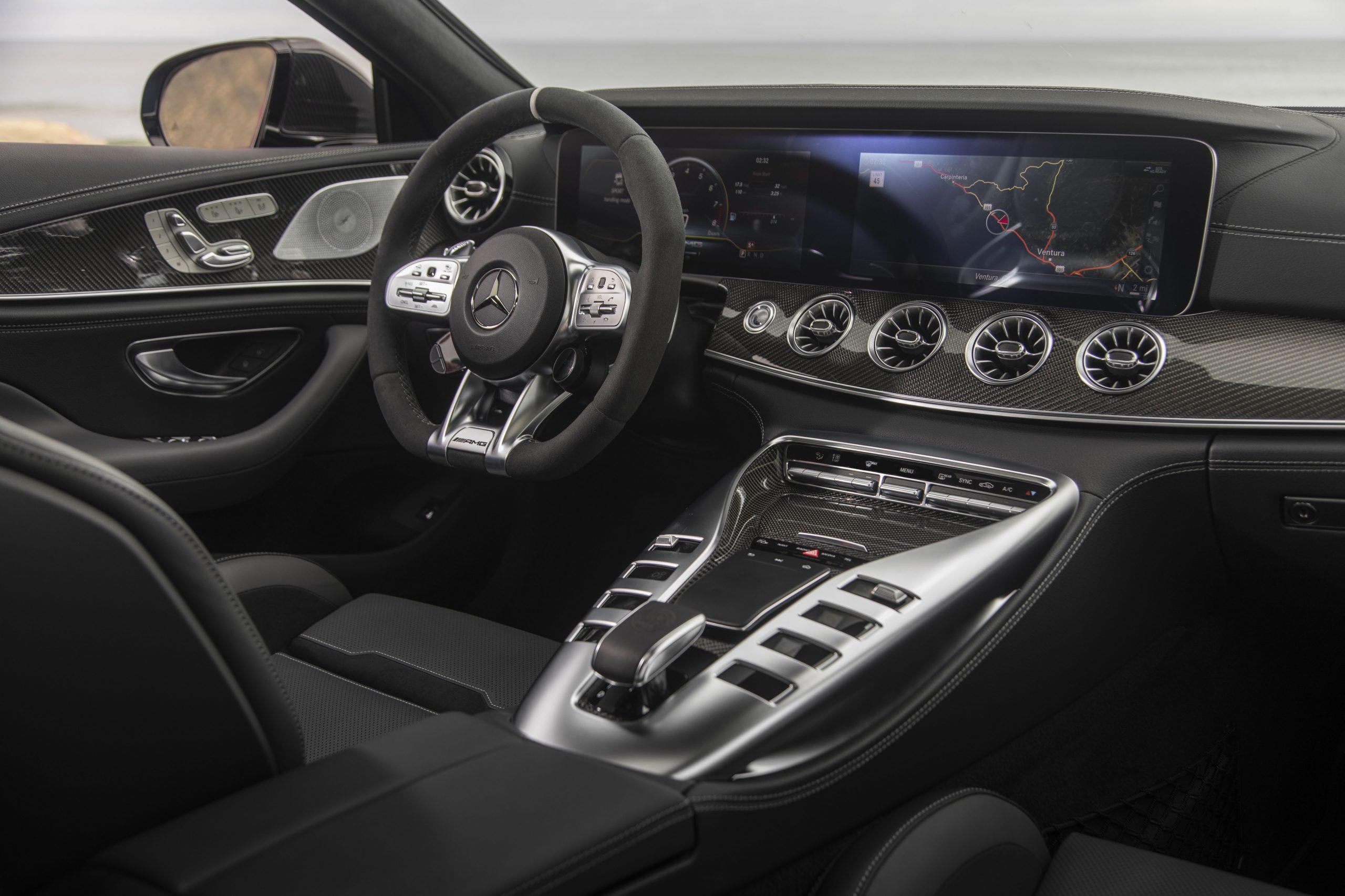 2021 Mercedes-AMG GT 63 S Interior