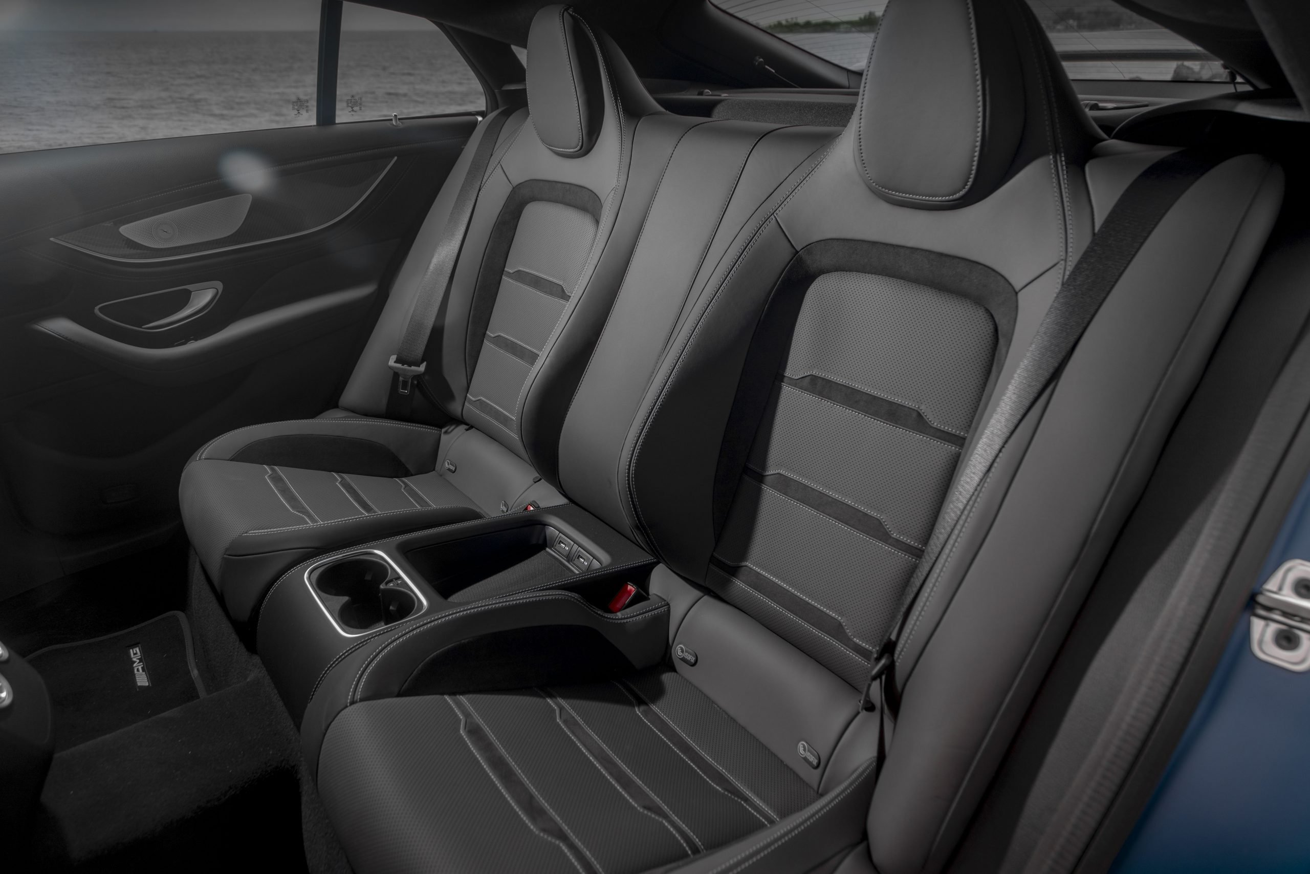 2021 Mercedes-AMG GT 63 S Rear Seats