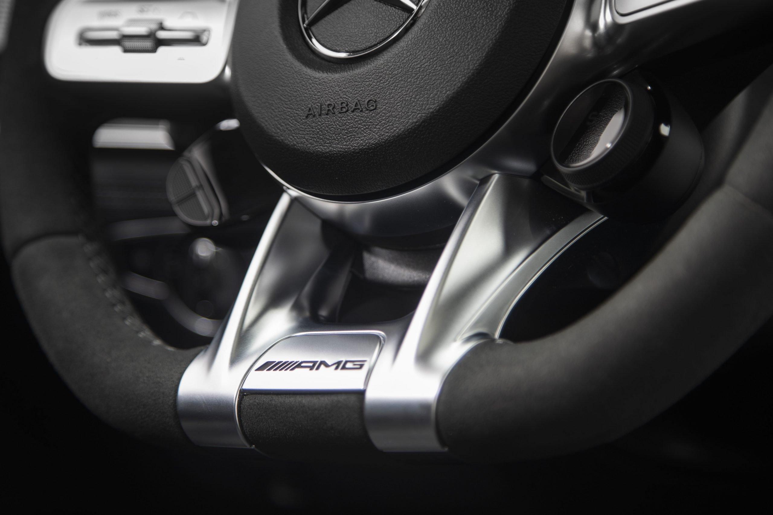2021 Mercedes-AMG GT 63 S Steering Wheel