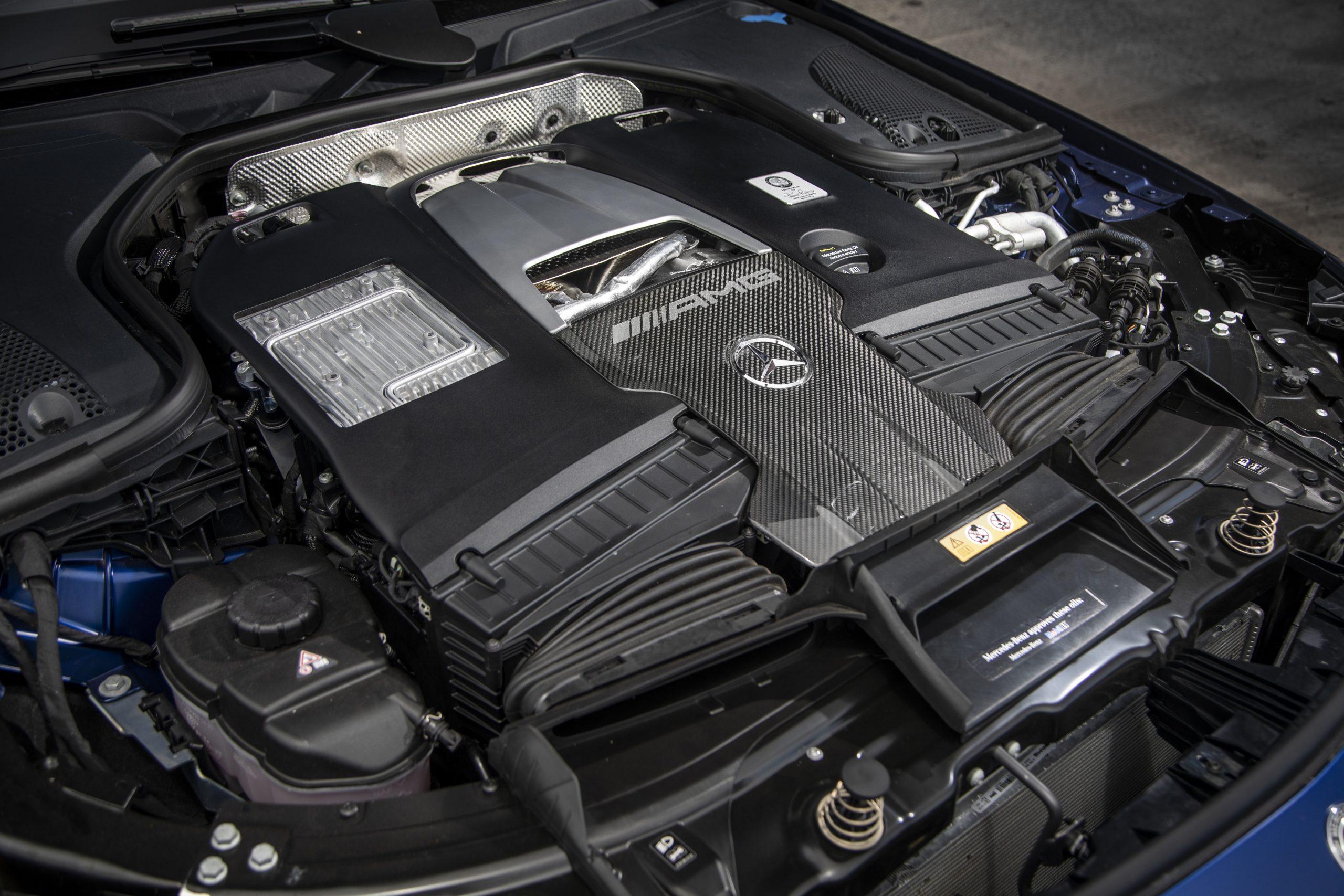 2021 Mercedes-AMG GT 63 S Engine