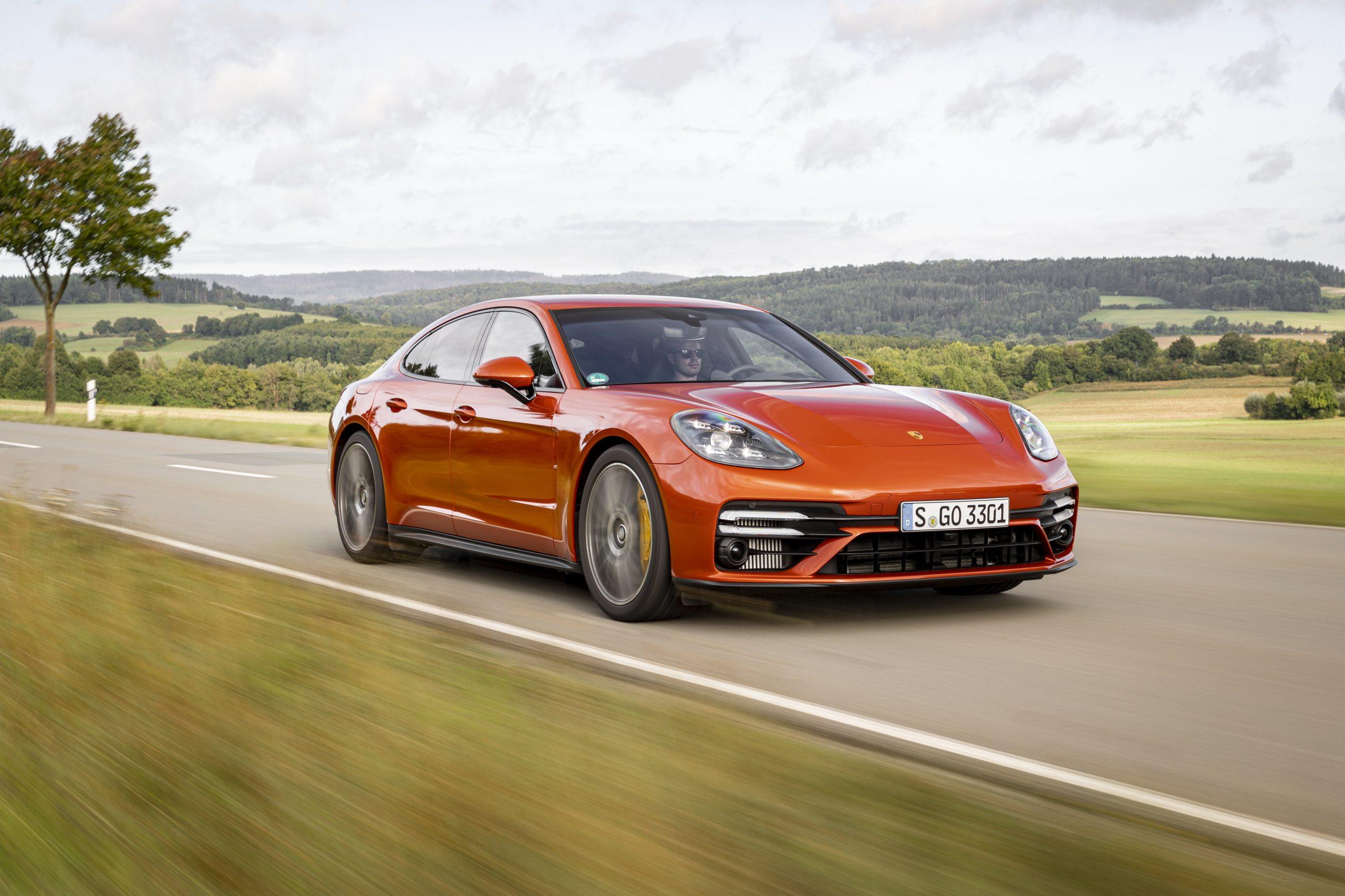 Fastest Four-Door Cars - 2021 Porsche Panamera Turbo S