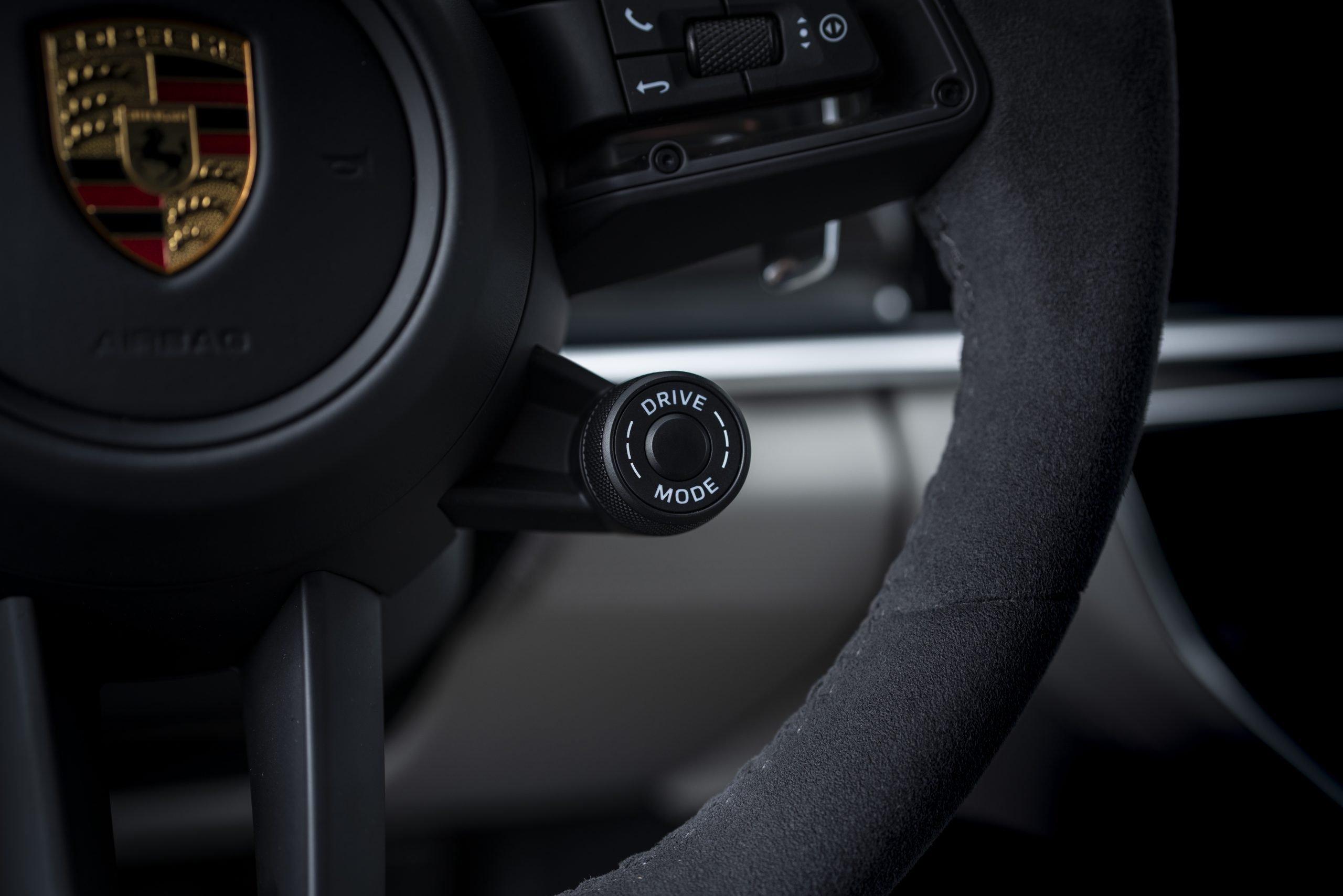 2021 Porsche Panamera Turbo S Steering Wheel