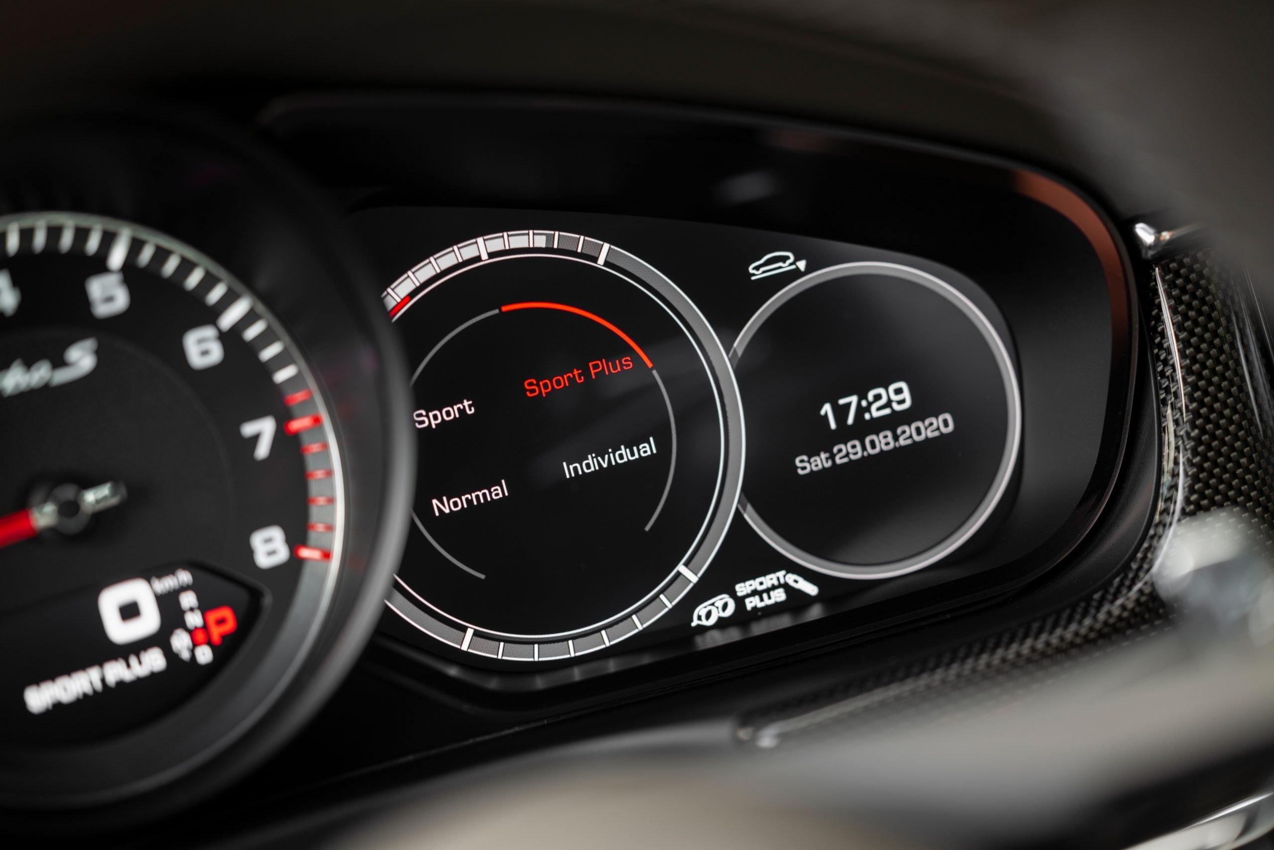 2021 Porsche Panamera Turbo S Instrument Cluster
