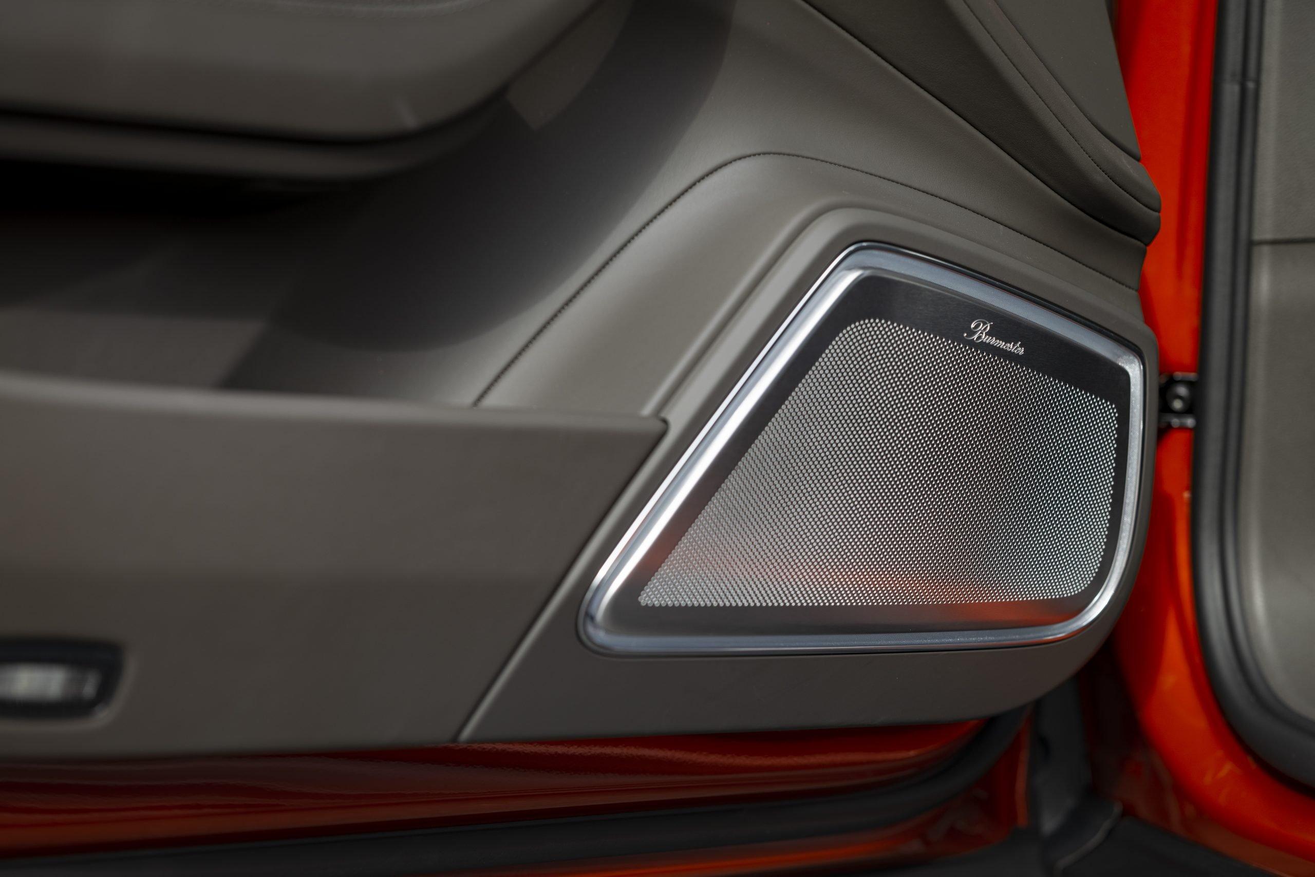 2021 Porsche Panamera Turbo S Interior Door Speaker