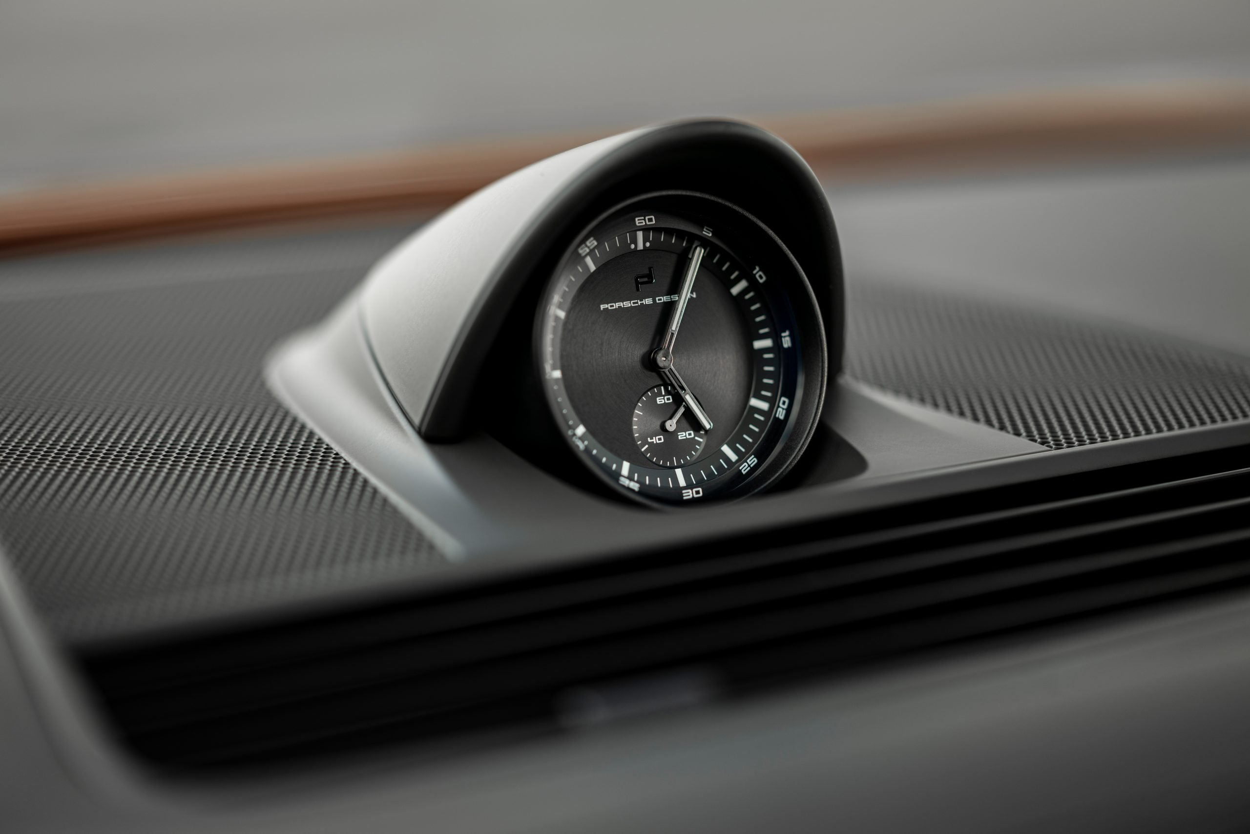 2021 Porsche Panamera Turbo S Stopwatch